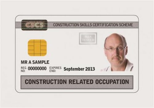 FISS - CSCS Cards Construction
