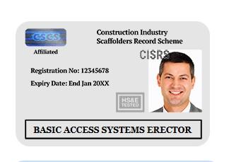 card-alb-cscs-basic-access-system-erector
