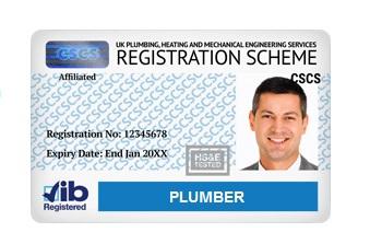 card-albastru-cscs-plumber-jib-londra