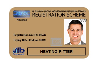 card-auriu-cscs-heating-fitter-jib-londra