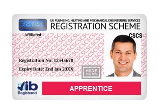card-rosu-cscs-apprentice-jib-londra