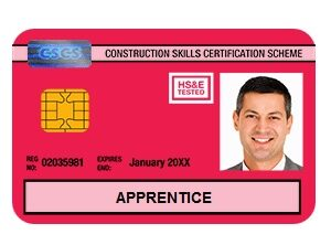 CSCS CARDS - Construction Workers
