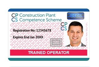 CPCS CARDS - Plant Operators